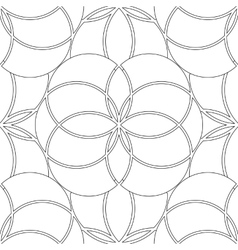 Graphic sacred geometry pattern vector