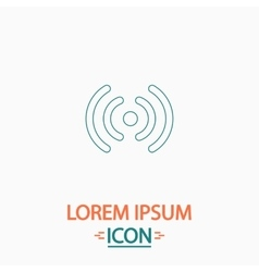 Wireless computer symbol vector