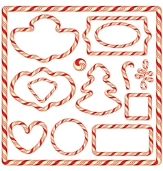 candy frame 380 vector image vector image