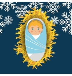 Christmas cartoon graphic vector image vector image