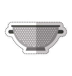 fry rack isolated icon vector image