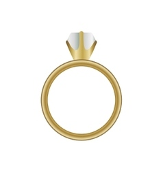Engagement ring icon image vector