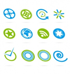 design element set vector image