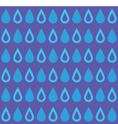 Drops Pattern vector image vector image