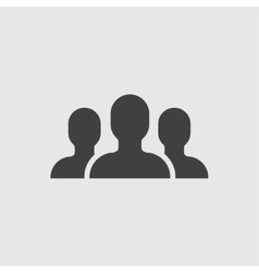 People group icon vector image vector image