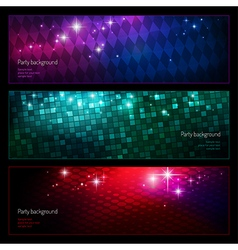 Background party set2 vector