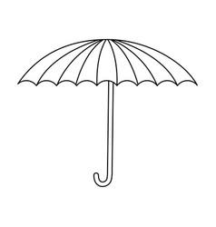 circus umbrella fun equipment image vector image