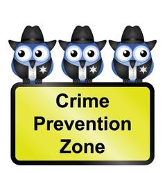 Crime zone usa vector