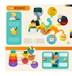 Design infographics set vector