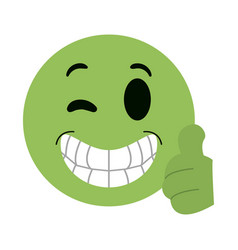 Emoji instant messaging icon imag vector
