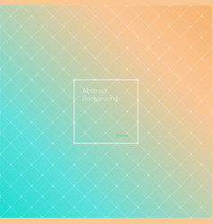 gradient orange and turquoise colored vector image vector image