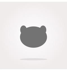 panda Icon panda Icon panda Icon Art vector image