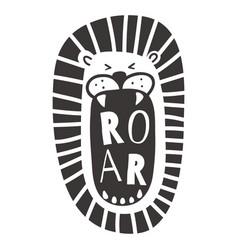 roar vector image vector image