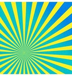 Warm bright rays vector