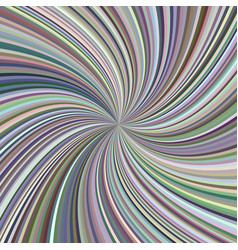 Swirl background from twisted spiral ray stripes vector