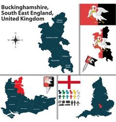 Buckinghamshire South East England vector image