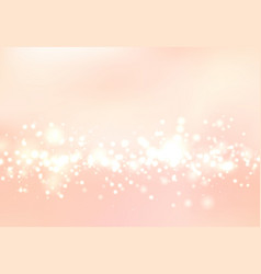 Abstract blurred soft focus bokeh of bright pink vector
