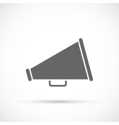 Megaphone icon Loudspeaker icon vector image vector image