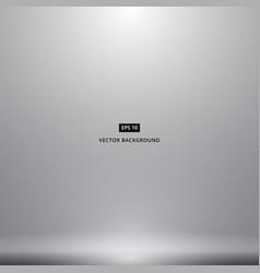 Smooth dark grey white with black vignette studio vector