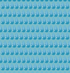 Pattern of blue water drop vector