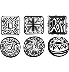 African ornament vector