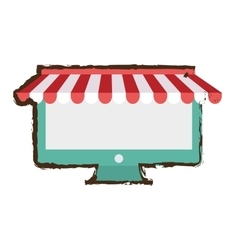 Internet store shopping vector