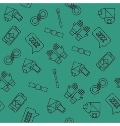 Sexual set icons pattern vector