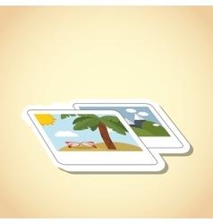 Travel and photo icon design vector