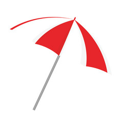 umbrella beach accesory vector image