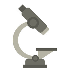 laboratory microscope equipment icon vector image