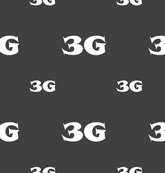 3g sign icon mobile telecommunications technology vector