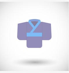 Kimono flat icon vector