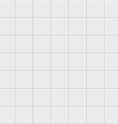 White tiles texture vector image