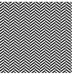 chevron backgroundblack and white stripped vector image vector image