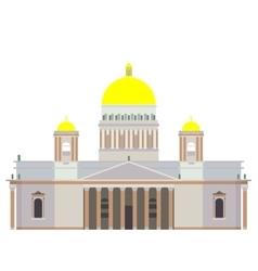 Saint isaac s cathedral vector