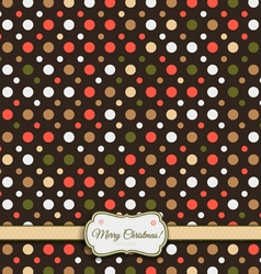 Pattern colored 32fr mchristmas vector
