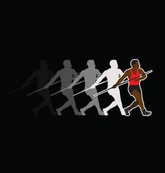 javelin sports vector image