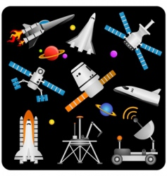 space elements vector image