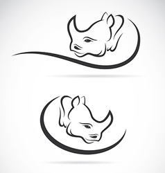 Rhino design vector