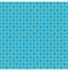 Wave geometric seamless pattern 4006 vector