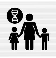 Family healthcare design vector