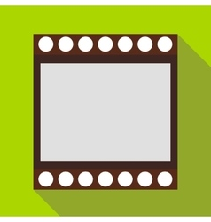 Film strip icon in flat style vector