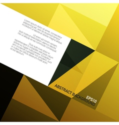 Abstract golden diamond shape patches background vector