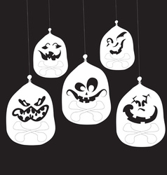 Best halloween decorations vector