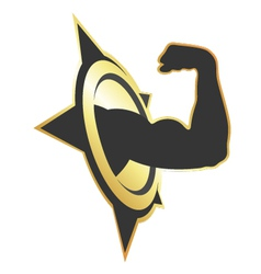 symbol for fitness vector image vector image