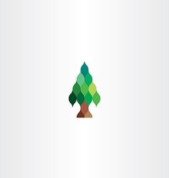 Fir tree icon design vector