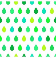 Green tone rain white background vector