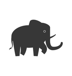 Elephant icon animal design graphic vector