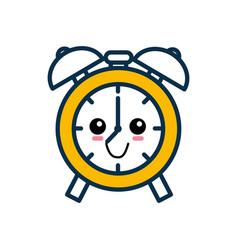 Alarm clock cartoon vector