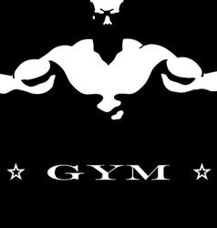 Design for gym vector